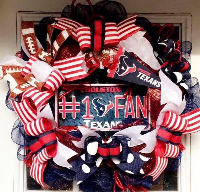 Houston Texans Wreath ❤️🏈