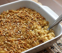 Beer and Cheddar Macaroni and Cheese