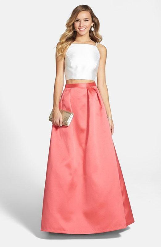 7 mejores imágenes de Pink en Pinterest | Vestidos de baile de ...