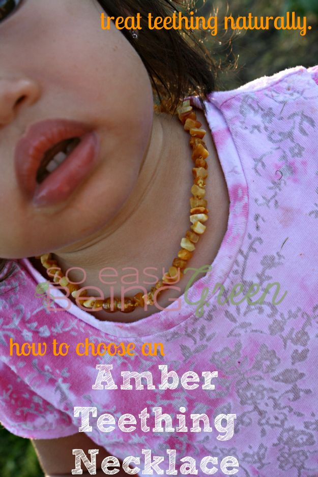 How to Choose an Amber Teething Necklace