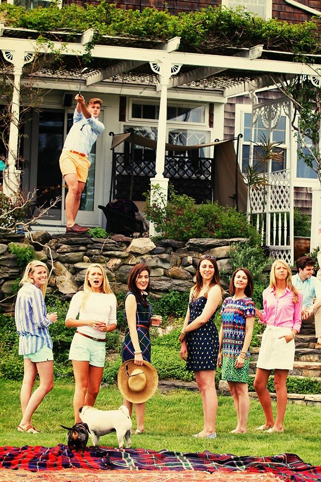 Classy Girls Wear Pearls: Back at Wetherledge