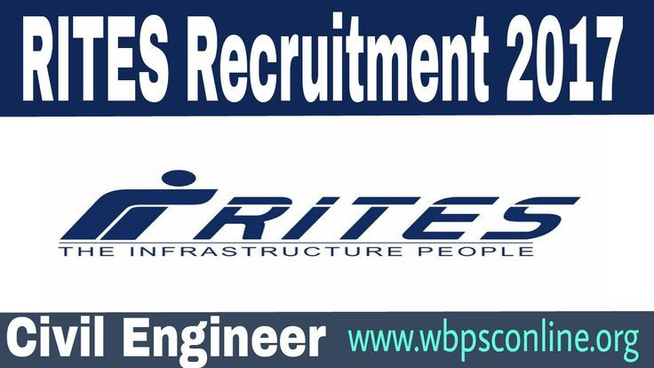 RITES Recruitment 2017 for Civil Engineering Jobs for Pune Metro Projects in Mumbai, Maharashtra. Online registration last date 14th Nov, 2017.