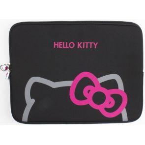 """Geanta Hello Kitty Neagra Laptop/Tableta 11"""" - Huse"""