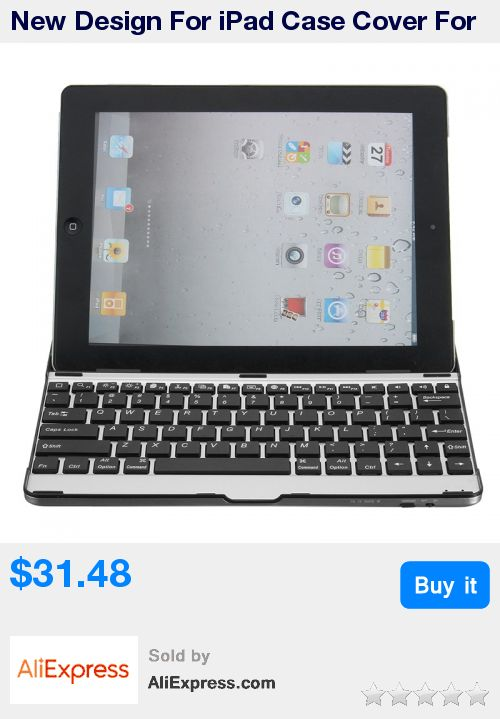 New Design For iPad Case Cover For iPad 2 3 4 Aluminum Wireless Bluetooth 3.0 Keyboard Stand Case Cover Dock For iPad 2 3 4 * Pub Date: 06:50 May 25 2017