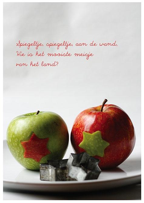 Simple and easy food diy, apple stars, snowwhites apples   fairy tales en sprookjes voor kinderen de leukste zelfmakers, diy, bento, fashion en meer op moodkids.nl