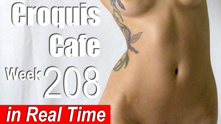 Croquis Cafe: Figure Drawing Resource No. 208