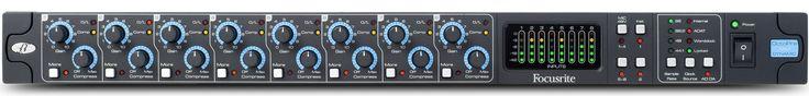 Focusrite Octopre MkII Dynamic Eight Channel Microphone Preamplifier