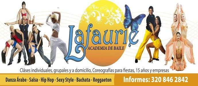 Academia de Baile Lafaurie - Welcome to the dance academy Lafaurie offer Arabic dance, salsa, hip hop, sexy style, Bachata, Reggaeton; for children, youth and adults with flexible schedules. Directed by Cindy Bonilla expert instructor and dancer with extensive experience.