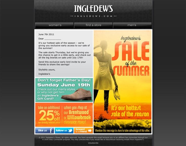 Ingledew's Email.