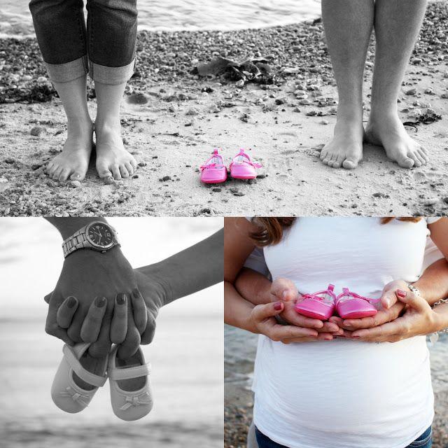 Maternity Shoot on the Beach // Blue Glacier Photography: