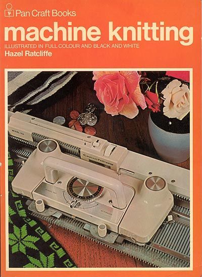 """Link to a book review of """"Machine knitting"""" by Hazel Ratcliffe. The review is in German and English, by kind permission from Kerstin of the Strickforum blog."""