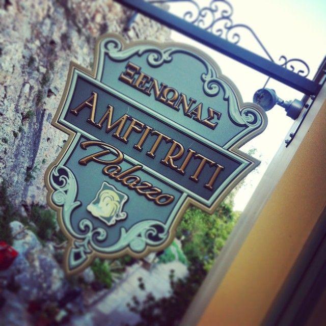 #amfitriti_hotels #palazzo #sign #nafplio