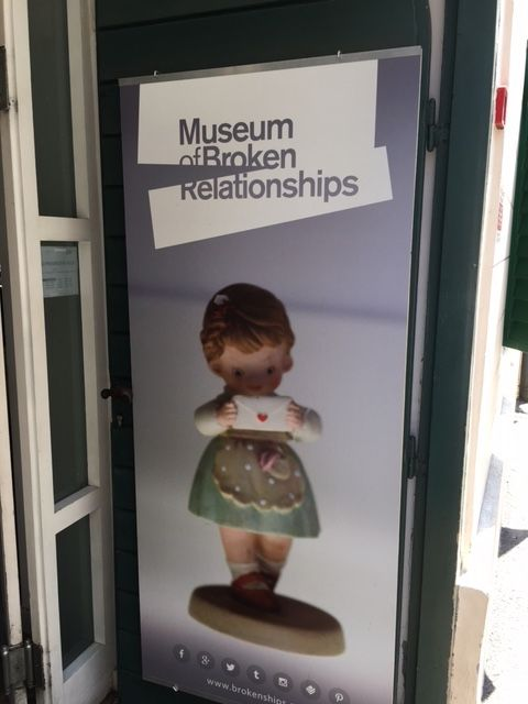 The Museum of Broken Relationships in #Zagreb, #Croatia is filled with touching memories and trinkets about relationships that fell apart. Click through to read more.