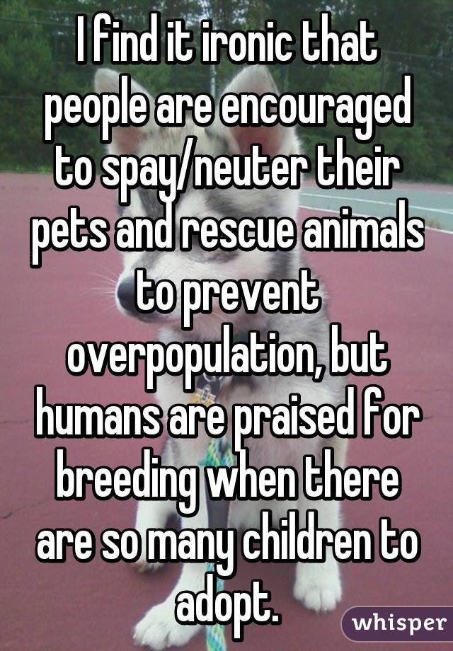 And why is it 20k+ to adopt all of these unwanted kids anyway?