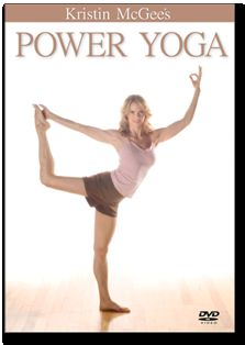 Power Yoga DVD with Kristin McGee Loved and Pinned by www.downdogboutique.com to our Yoga community boards