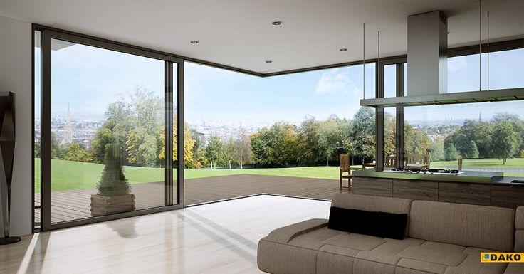 - Maksymalny prestiż i elegancja - Wygodne otwieranie i zamykanie - Możliwość zlicowania progu z posadzką - Możliwość wykonywania drzwi narożnych z ruchomym słupkiem - Rozwiązanie umożliwiające harmonijnie połączenie wnętrza domu z balkonem,  tarasem czy otwartą przestrzenią ogrodu