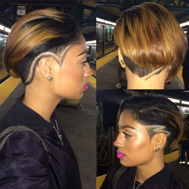 shaved side hair ideas