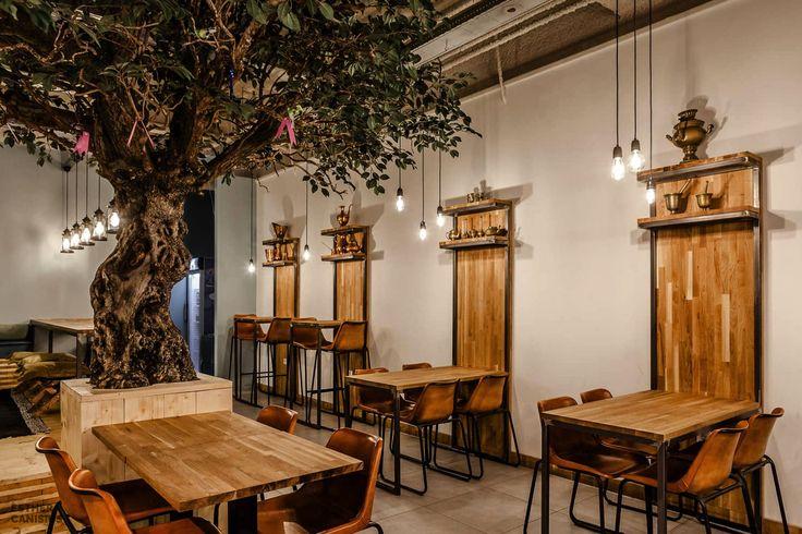 Ekmekci Turkish Food, Rotterdam, 2016 - Esther Canisius.  Restaurant Interior Design. Photography by Michel de Groot