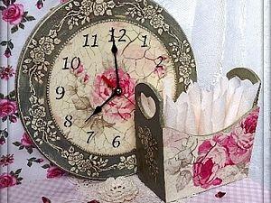 "МК часы ""Старинные розы"" - Ярмарка Мастеров - ручная работа, handmade"
