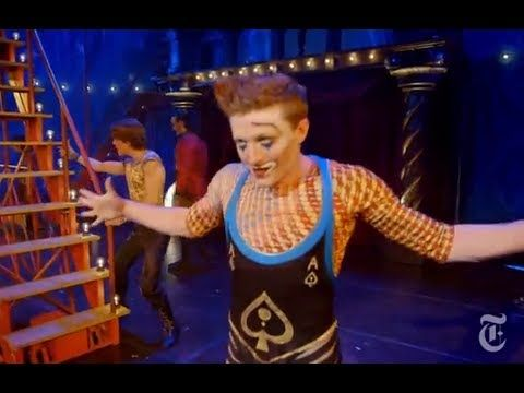 'Pippin' Broadway Revival - The New York Times picks apart the creation of an opening number...cool!
