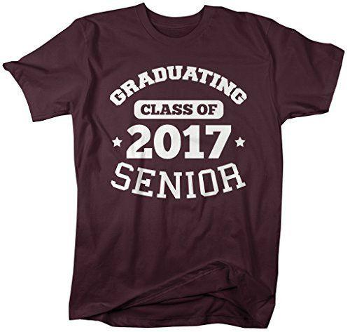 Shirts By Sarah Men's Graduating Class 2017 Senior Graduate T-Shirt