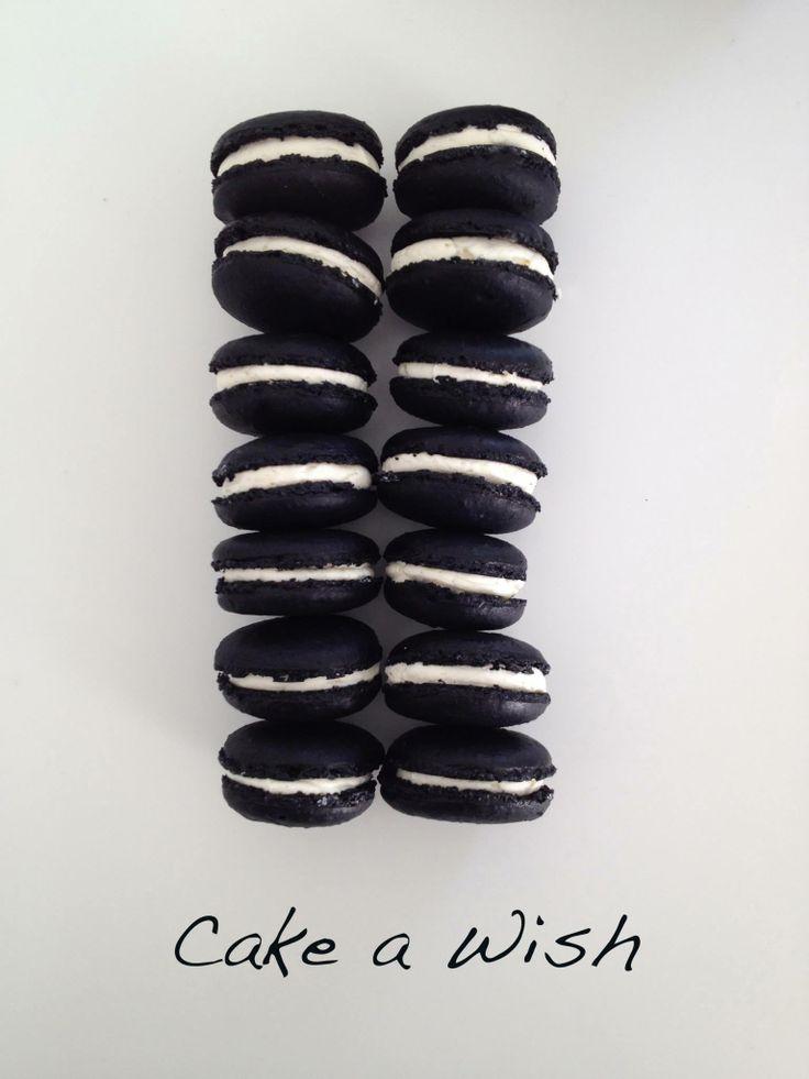 #macaron #black&white