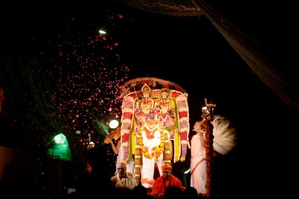 Royal Procession of Rukmini Dwarakadhisha on Gaja Vahana