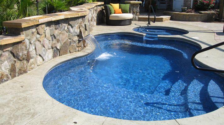52 best images about fiberglass pools on pinterest for Fiberglass pool kits