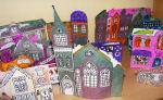 Christmas Village and Christmas Village Advent Calendar