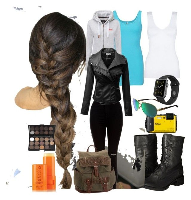 """""""Adventure Girl"""" by leanne-laird on Polyvore featuring Timberland, BKE core, Superdry, New Look, Aéropostale, Hanro, Apple, Oakley and Fresh"""