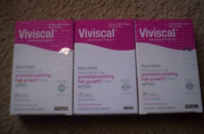 Hair Loss Treatments: New-Viviscal-Extra Strength Women Hair Supplement-3 Months Supply-180 Tablets -> BUY IT NOW ONLY: $90.0 on eBay!