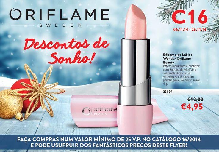 Flyer do Catálogo Oriflame 16 2014