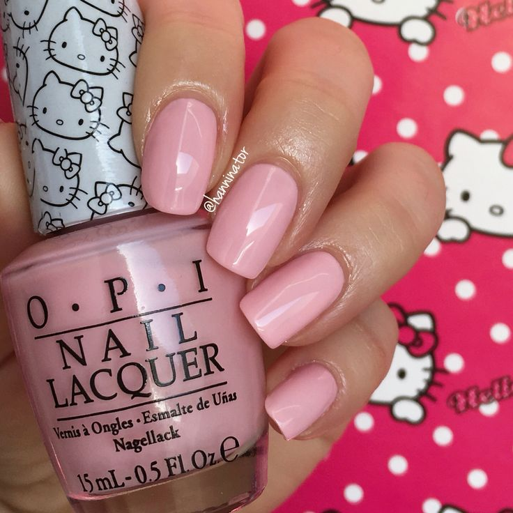 Small + Cute = ♥ - OPI Hello Kitty collection
