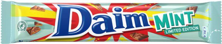 Succombez à la nouvelle saveur #Daim Mint !