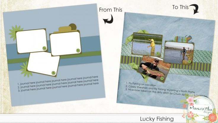 Lucky Fishing Quick Click Template 2