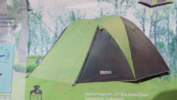 Tenda greatoutdoor java 5/6
