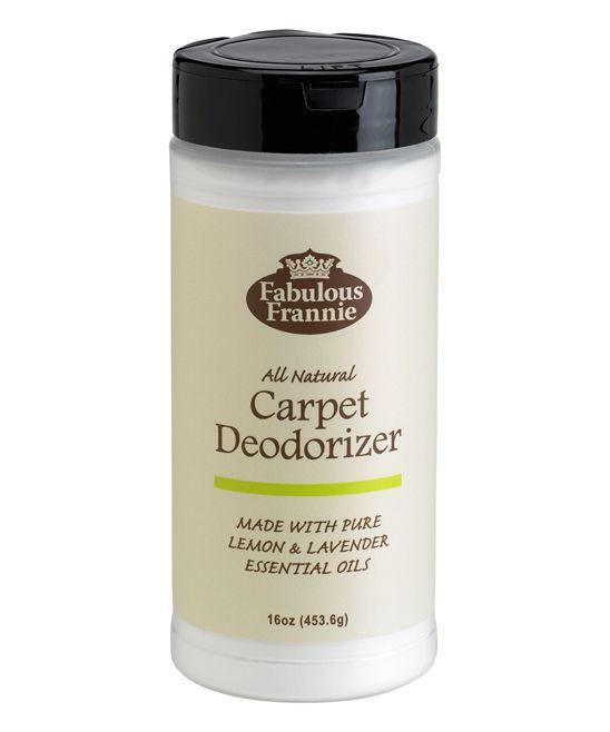 All- Natural Carpet Cleaner