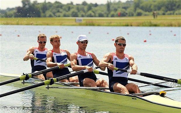 London 2012 Olympics: Eton Dorney crowds boost GB rowers