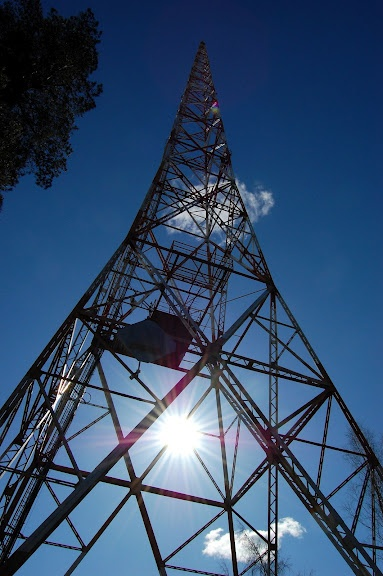 Radiomastot täyttivät 80-vuotta vuonna 2008. The radio masts turned 80 in 2008. Photographer Ilona Reiniharju
