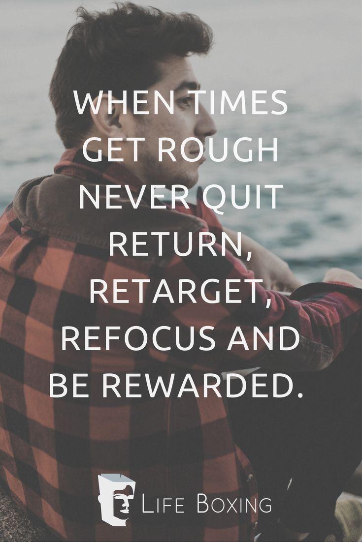 Return, Retarget, Refocus and be Rewarded.