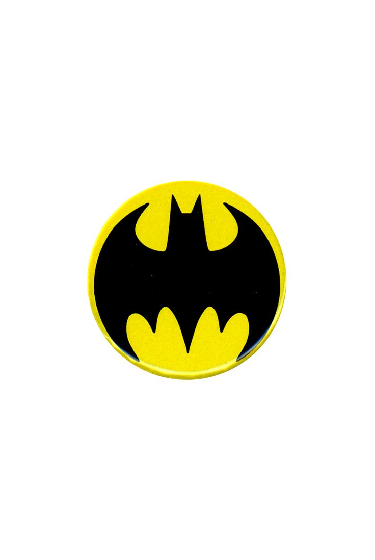 DC Comics Batman Logo Pin   Hot Topic