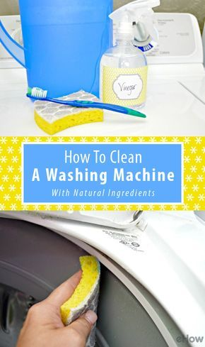 When was the last time you cleaned the washing machine? This simple cleaning solution using all natural ingredients will be all you need to use evry few months to keep your washing machine clean! http://www.ehow.com/how_5115133_clean-washing-machine-vinegar.html?utm_source=pinterest.com&utm_medium=referral&utm_content=freestyle&utm_campaign=fanpage