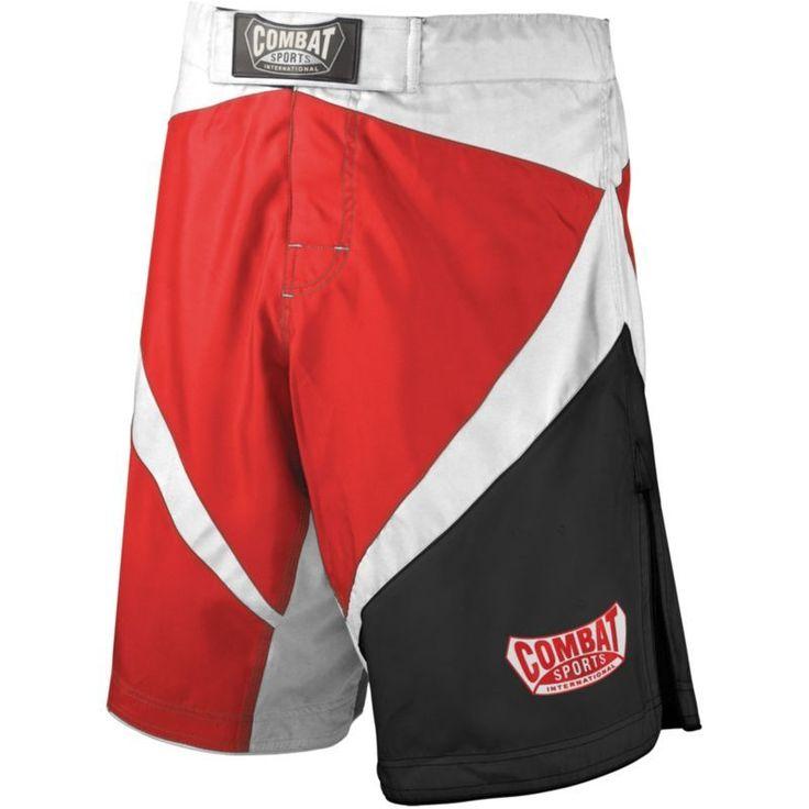 Combat Sports Fight MMA Boardshorts, Adult Unisex, Size: 40, Red