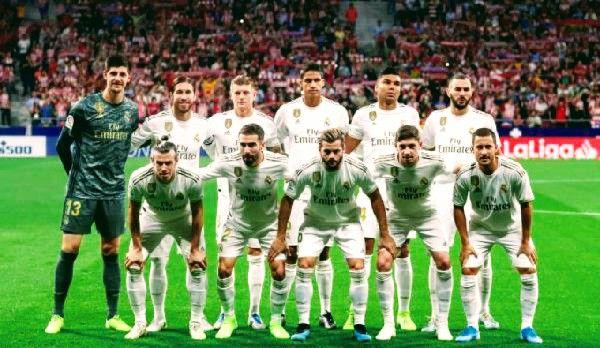 تشكيلة ريال مدريد في مواجهة مايوركا الدوري الاسباني Football Soccer Field Soccer