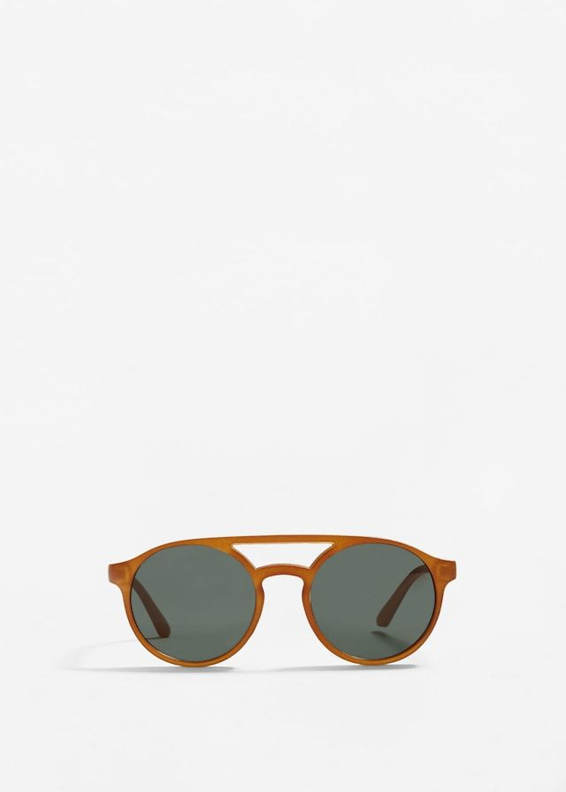 Acetate frame sunglasses