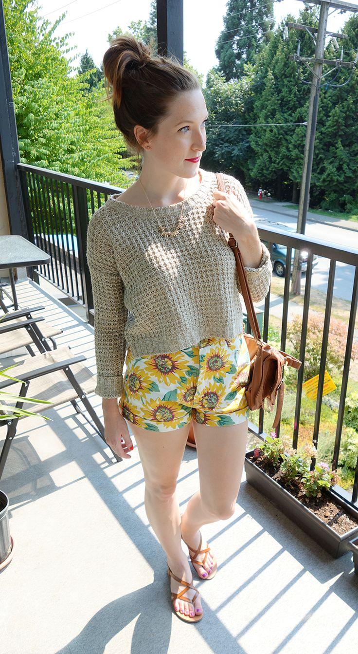 sunflower shorts #summerstyle