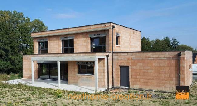 Nexthome Constructeur De Maison Moderne Dans Le Haut Rhin Maisons Contemporaines Nexthom Construction Maison Moderne Facade Maison Moderne Maison Moderne