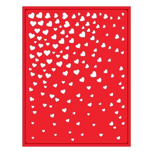 Spellbinders - Trendy Collection - Shapeabilities Die - Cascading Hearts