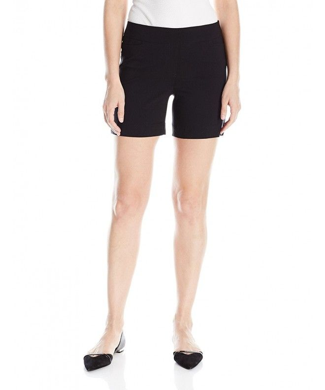 67f824858eea Women's Petite Size Wide Band Pull-On Short - Black - C312B9G6SD3,Women's  Clothing, Shorts #shorts #sexy #style #Shorts