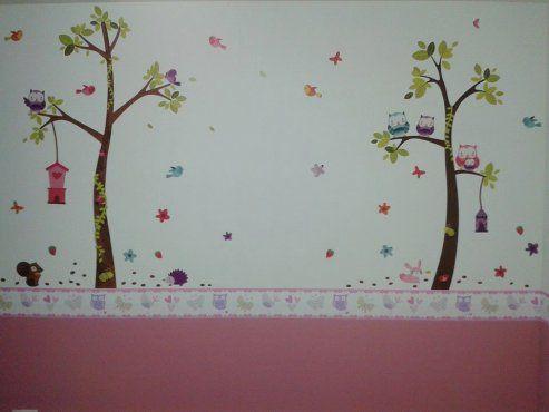 Paredes decoradas para el beb bebe y blog for Paredes decoradas